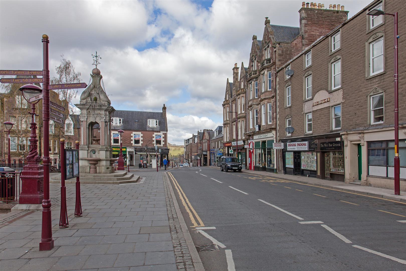 1A, Alma Place, Crieff, Perthshire, PH7 3JG, UK